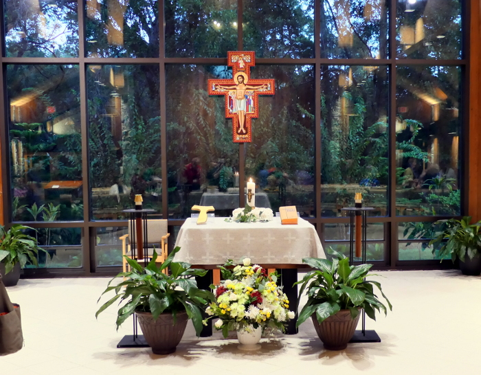Chapel at San Pedro Retreat Center.  Winter Park, Florida